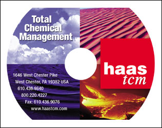 Promotional CD-Rom design for Haas TCM by DDA